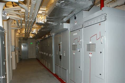the electric room rennovated ne electrical room