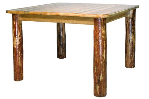 Square Dining Table For 4 Glacier Square 4 Post Dining Table