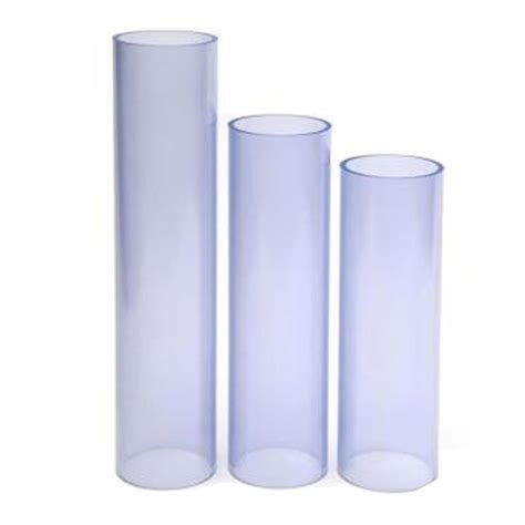 Clear Plumbing Pipe by Plastic Pipes Fittings Steel Flanges Valves Steel