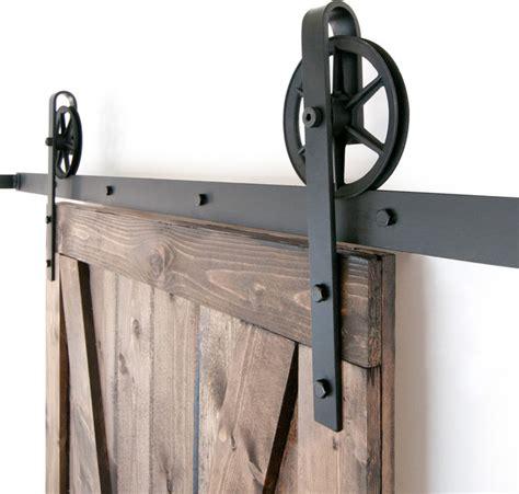 industrial barn door hardware industrial spoked european