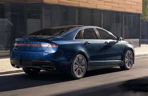 lincoln colors 2018 lincoln mkz release date price interior redesign