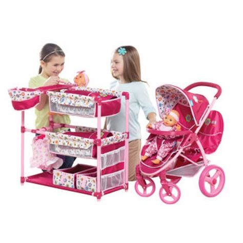baby alive changing table malibu doll stroller activity center playset best