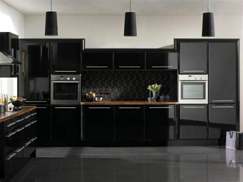 magia negra en la cocina 50 ideas de muebles en negro ultra modern magasf 233 ny konyhab 250 tor lakberendez 233 s