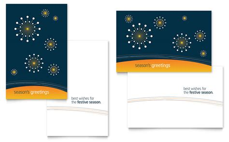 Microsoft Publisher Card Template by Free Greeting Card Template Word Publisher