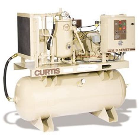 curtis rs 25 25 hp rotary air compressor