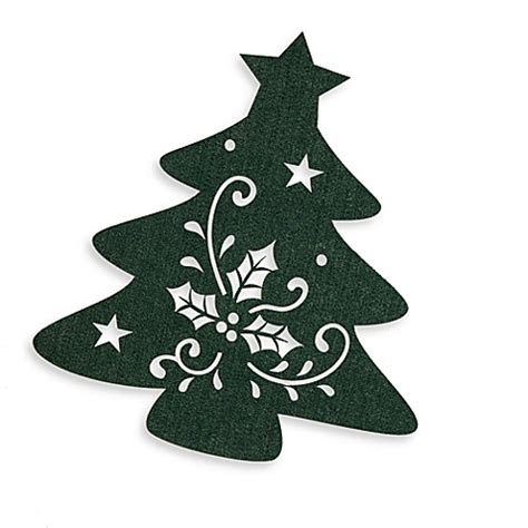 christmas tree felt placemat bed bath beyond