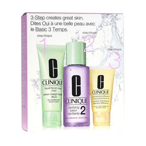The Best Of Clinique by Buy Clinique 3 Step Introduction Kit Skin Type 2 At