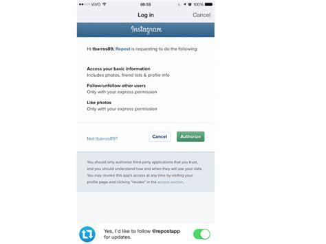 tutorial repost instagram veja como publicar a foto de outro usu 225 rio no instagram