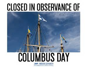 are markets closed on columbus day money used in sweden