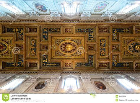 il soffitto il soffitto dei di san della basilica in laterano
