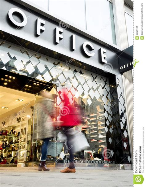 office shoe store oxford office store oxford editorial stock image