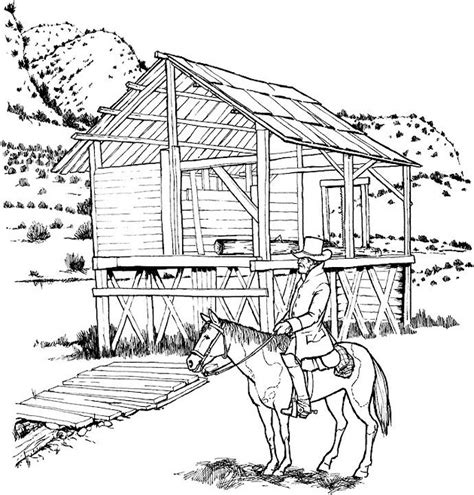 Coloring Page Landscape by Free Landscape Coloring Pages