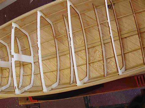 model boat hull construction amya star45 how to build r c model sail boat s45