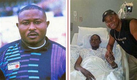 new nigerian actor died recently 2015 onehomie former nigerian rayo vallecano goalkeeper wilfred