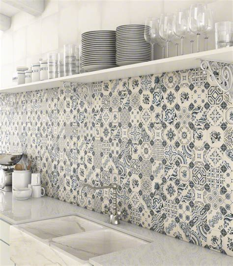 Patchwork Tile Backsplash Ideas Kitchen