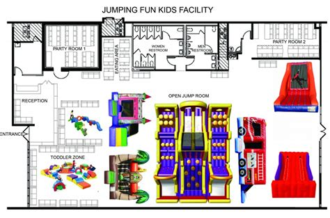 Party Floor Plan Jumping Fun Kids Jumping For Fun Jumping For Health