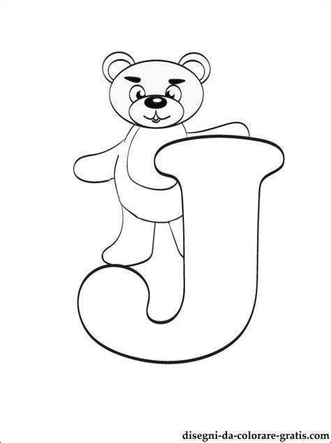 lettere dell alfabeto da colorare e stare gratis lettera j disegni da colorare disegni da colorare gratis