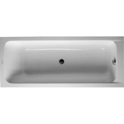 baignoire duravit d code duravit baignoire d code 1700x700mm blanc ecoulement