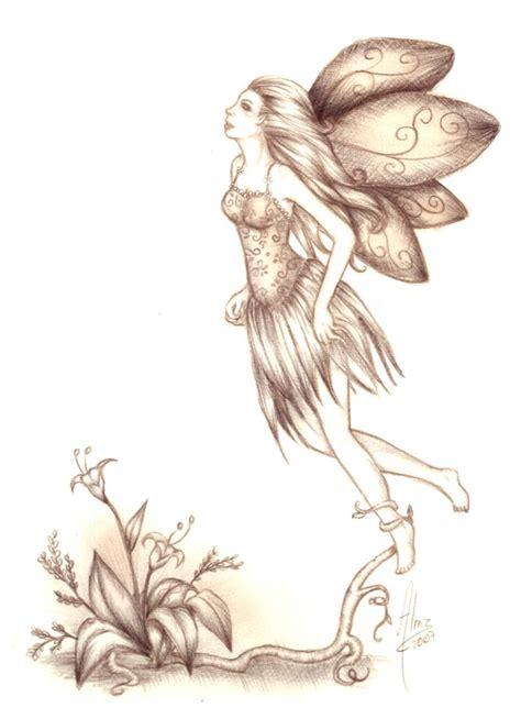 imagenes a lapiz de hadas volar by arumaz on deviantart