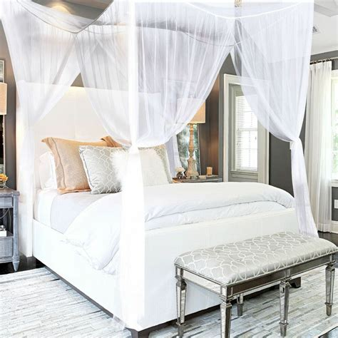 Bed Canopy by Post Bed Canopy Mosquito Net King Size Netting