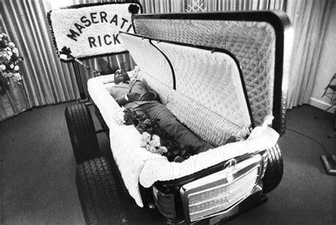 maserati rick story richard maserati rick s custom casket peace