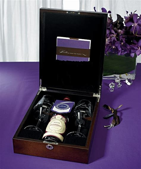 Letter Wine Box Letter Unity Ceremony Wine Box Set Keepsake Ebay