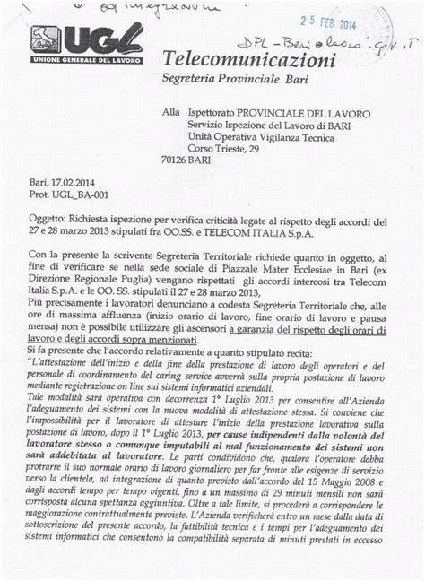 inps ufficio reclami lettera di protesta al datore di lavoro curriculum vitae