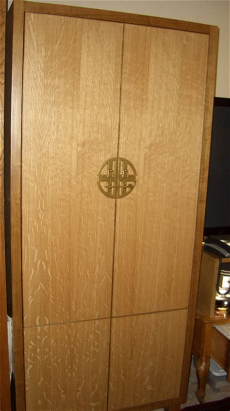 Quarter Sawn White Oak Cabinets by Quarter Sawn White Oak Office And Media Cabinets Modern