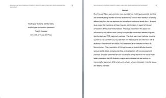 apa abstract template abstract in apa format business templated