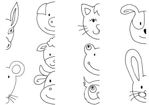 무료 일러스트 동물 머리 색칠 공부 당나귀 마우스 돼지 양 개구리 pixabay의 무료 이미지 793003