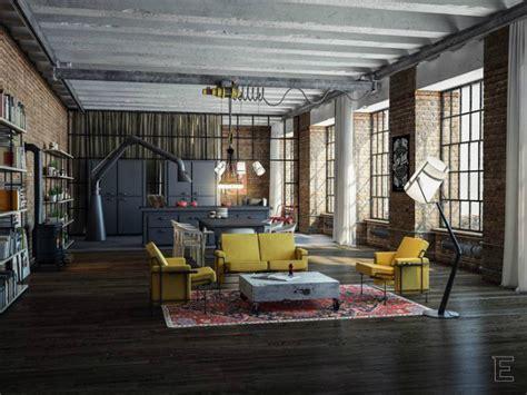industrial style loft industrial style loft apartment designs