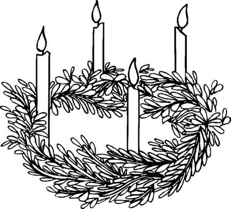 advent wreath candles coloring page four candles advent coloring pages batch coloring
