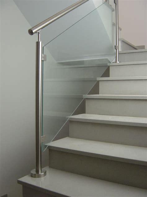 barandas interiores barandillas y barandas de cristal para escaleras de obra