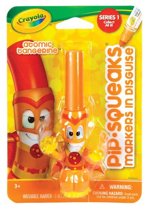atomic tangerine buy pipsqueaks in disguise atomic tangerine crayola at