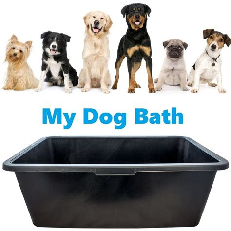 wash tubs for dogs black plastic water animal bath tub grooming