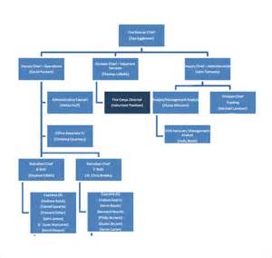 Department Organizational Chart Template by Sle Department Organizational Chart 12