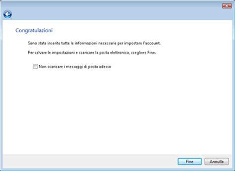 server posta in uscita wind mobile configurazione posta windows mail tiscali assistenza