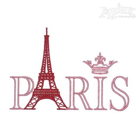 pictures of designs paris eiffel tower embroidery design