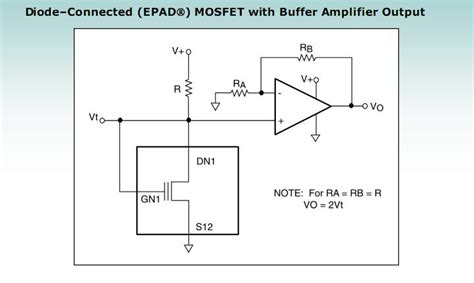 diode connected output resistance diode connected mosfet with buffer lifier output lifier circuit circuit diagram