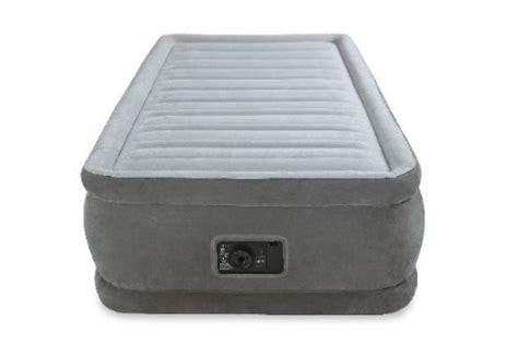 intex comfort plush elevated dura beam airbed intex comfort plush elevated dura beam airbed bed height