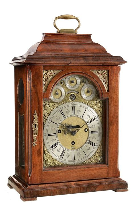 Calendar Table Clock A Quarter Chiming Table Clock With Year Calendar And Moonpha