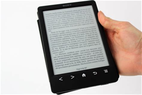 format ebook reader sony test la liseuse ebook sony prs t3 darty vous