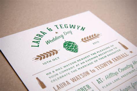 wedding invitations craft set craft letterpress wedding invitation matsto and from