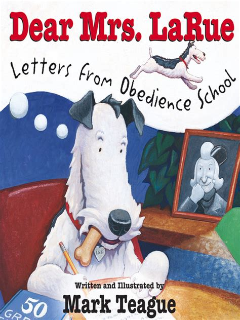 dear and an adventure in obedience books dear mrs larue mp3 letters from obedience school by
