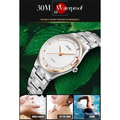 skmei jam tangan elegan wanita 1282 gold