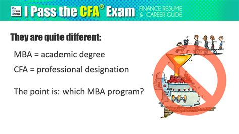 Cfa Or Mba For Investment Banking by Cfa Or Mba Could Certification Replace Degree In Finance