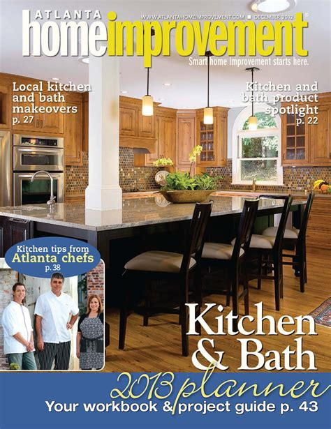 home renovation magazines atlanta home improvement cover momentum construction