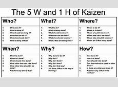 What is Kaizen? - Kanbanchi Tps Report Printable