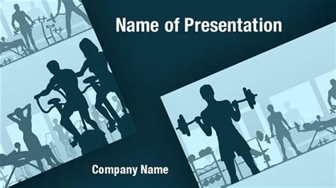 free fitness powerpoint templates fitness club powerpoint templates fitness club