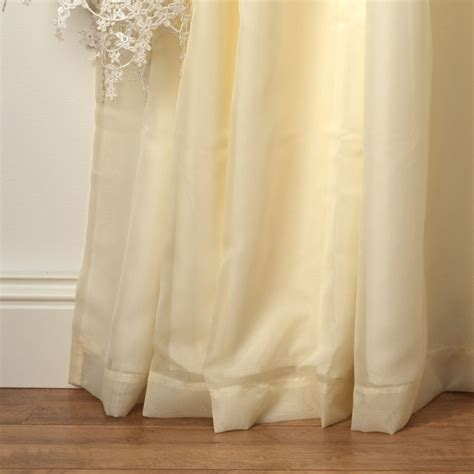 lined curtains wisteria cream lined voile curtains